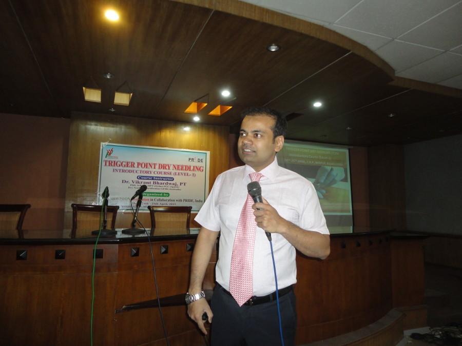 APRIL 2015, Dry Needling Workshop at CRP Dhaka, BANGLADESH